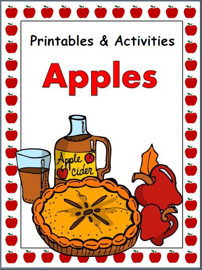 Kindergarten Apple Activities