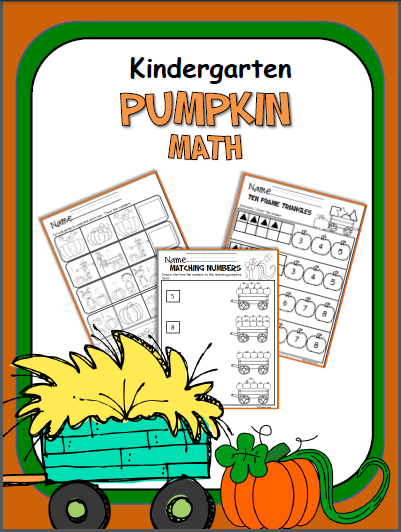 Pumpkin Math Workbook Kindergarten