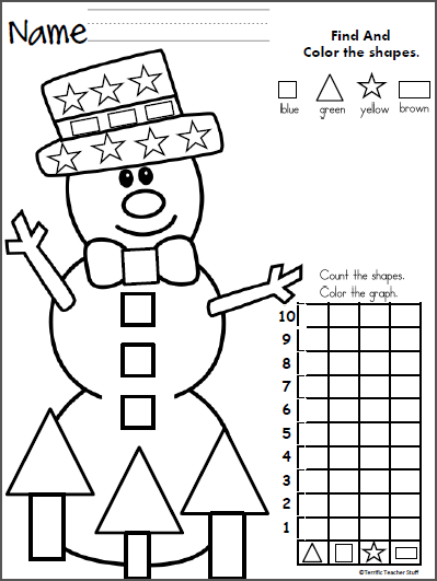 Kindergarten Math Worksheet