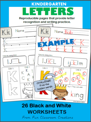 Alphabet Letter Formation Worksheets