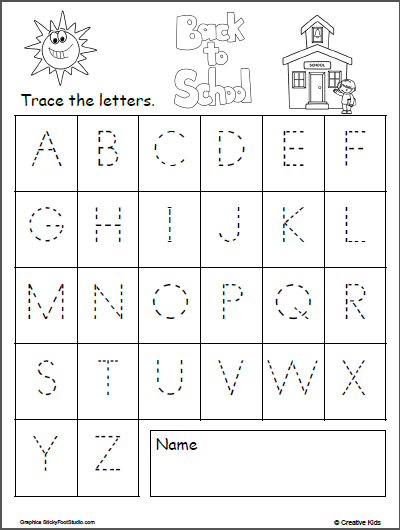 It is an image of Declarative Letters to Trace