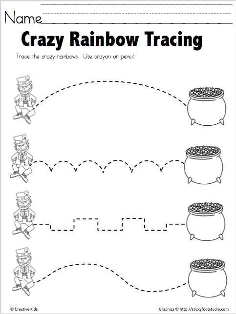 Free Fine Motor Tracing Practice for Apple Season ...