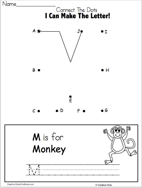 letter o writing worksheet and dot to dot kindergarten and preschool madebyteachers. Black Bedroom Furniture Sets. Home Design Ideas