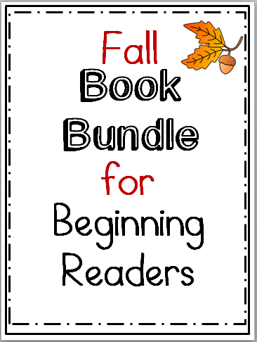 Fall Book Bundle Kindergarten
