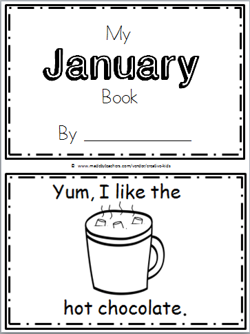 free january book kindergarten