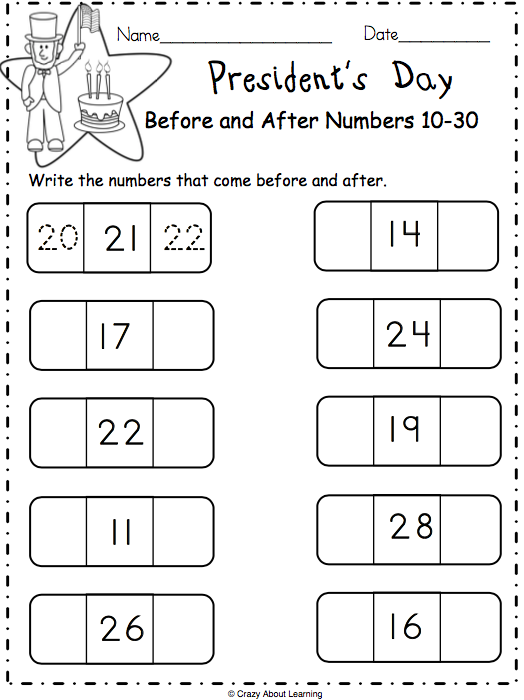 Free President's Day Math Worksheet - Made By Teachers