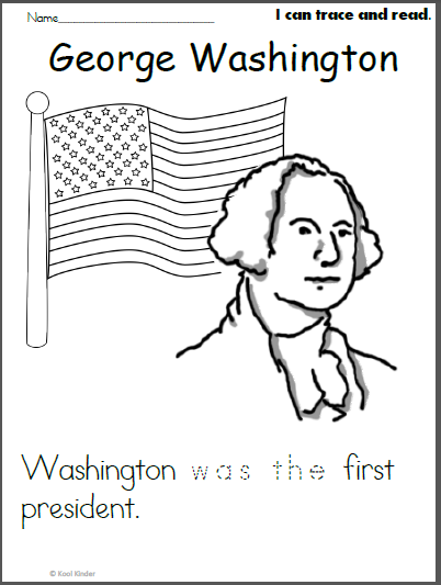 picture about George Washington Printable Worksheets titled George Washington Coloration and Examine Worksheet - Madebyteachers