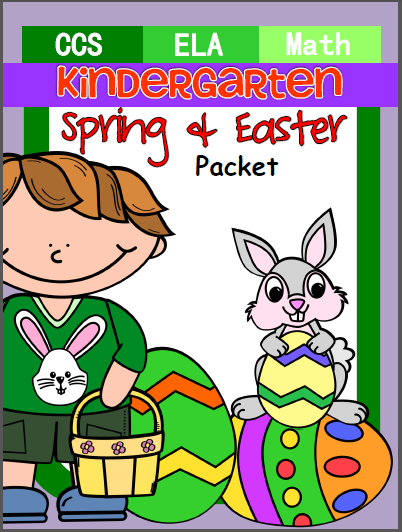 Spring and Easter Kindergarten Skills