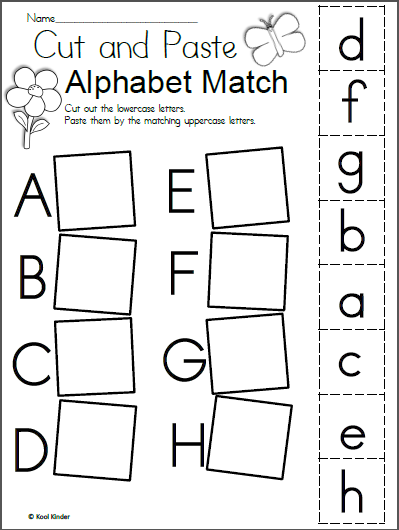 Free Spring Alphabet Worksheet - Madebyteachers