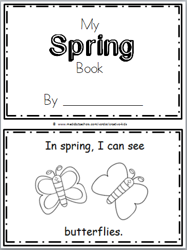 Free Spring Mini Book