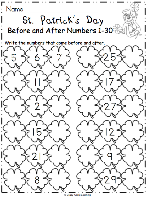 photo regarding St Patrick Day Puzzles Printable Free titled No cost St. Patricks Working day Math Worksheet - Madebyteachers