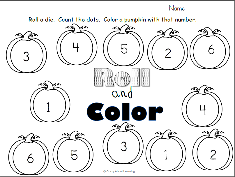Elegant Pumpkin Color By Number Kindergarten - cool wallpaper