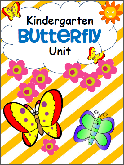 Butterfly Workbook For Kindergarten