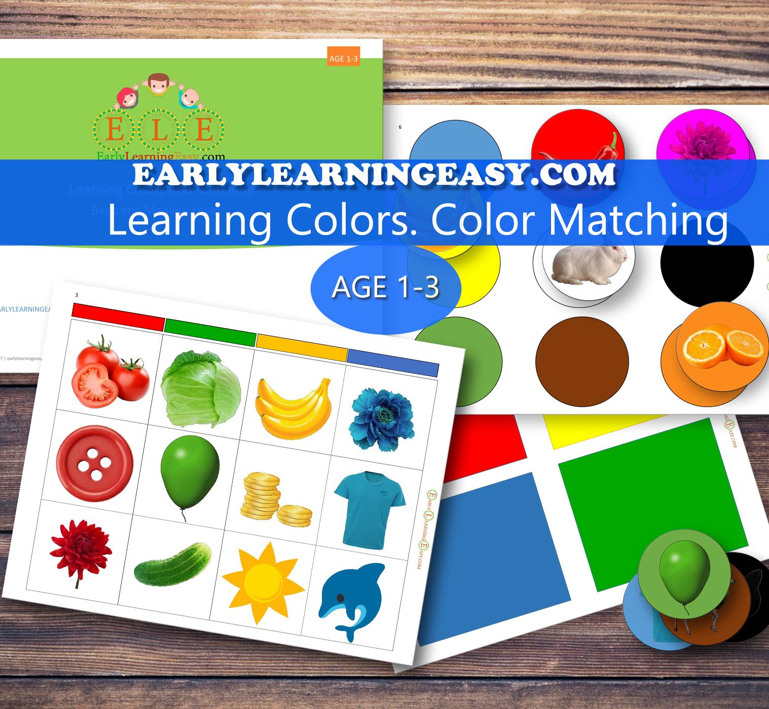 Learning Color matching Basic-Medium (1-3)
