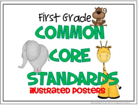 Common Core Standards Posters - 1st Grade