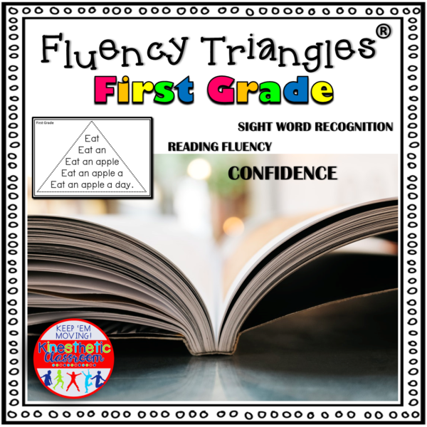 Reading Fluency Triangles® First Grade Sight Words
