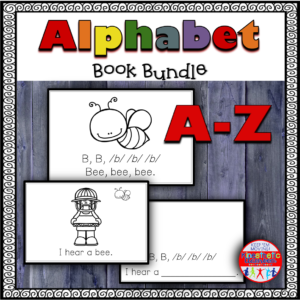Alphabet Book Bundle Kindergarten