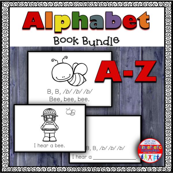 Alphabet Book Bundle Kindergarten