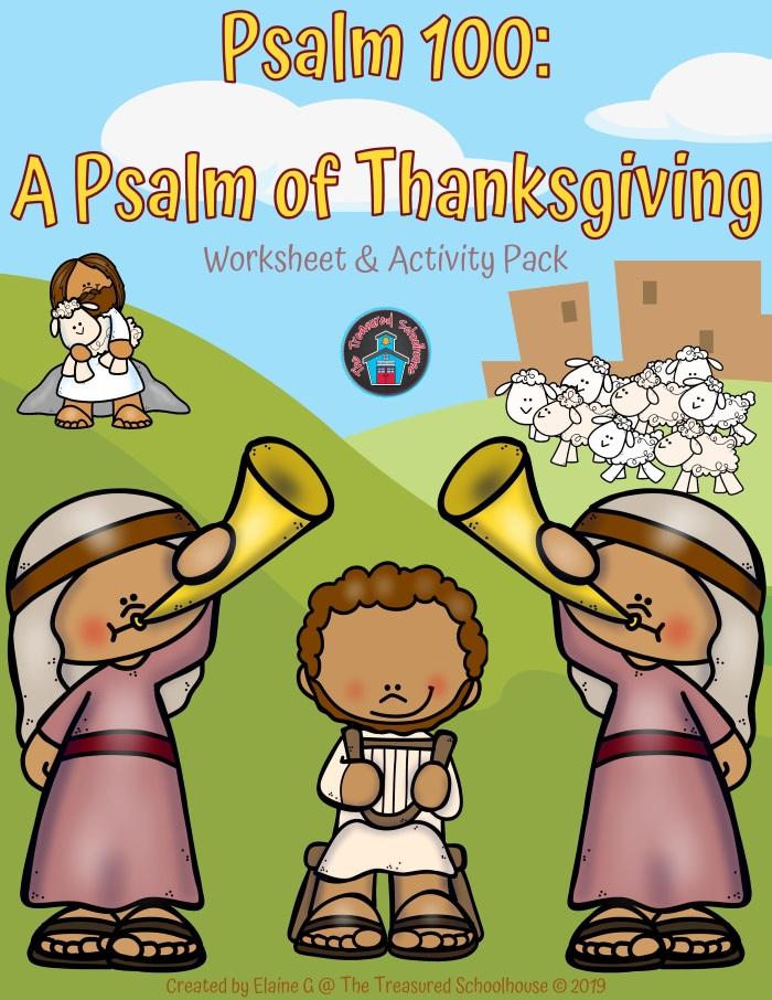 Psalm 100 Worksheet & Activity Pack