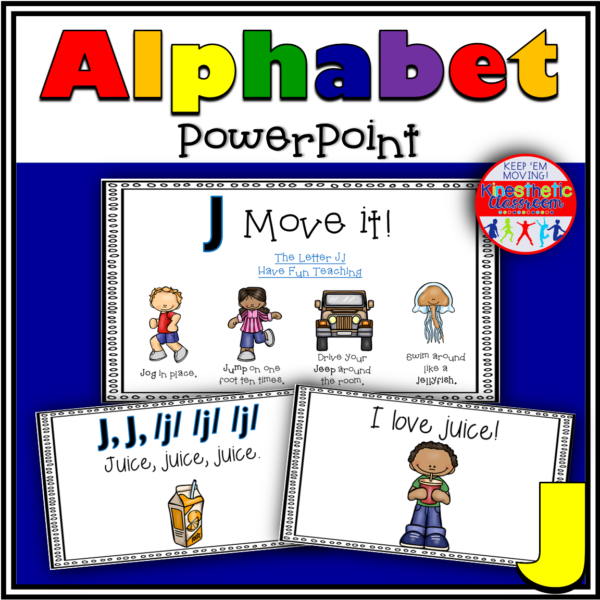 Alphabet Activity Letter Sound J PowerPoint Presentation