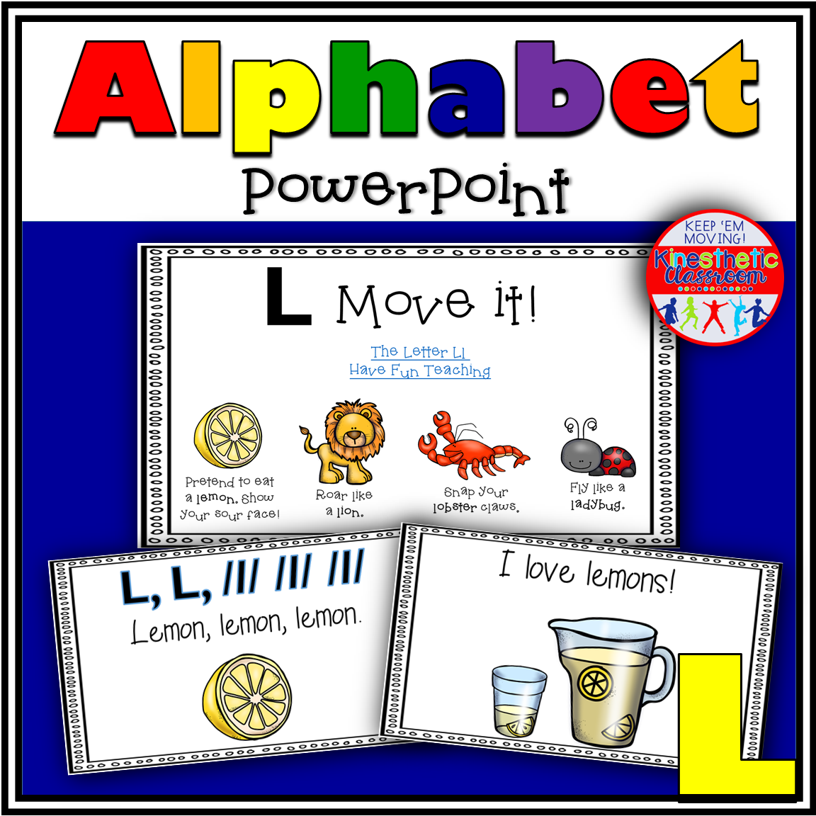 Alphabet Activity Letter Sound L PowerPoint Presentation