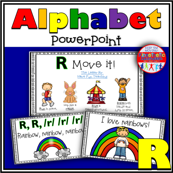Alphabet Activity Letter Sound R PowerPoint Presentation
