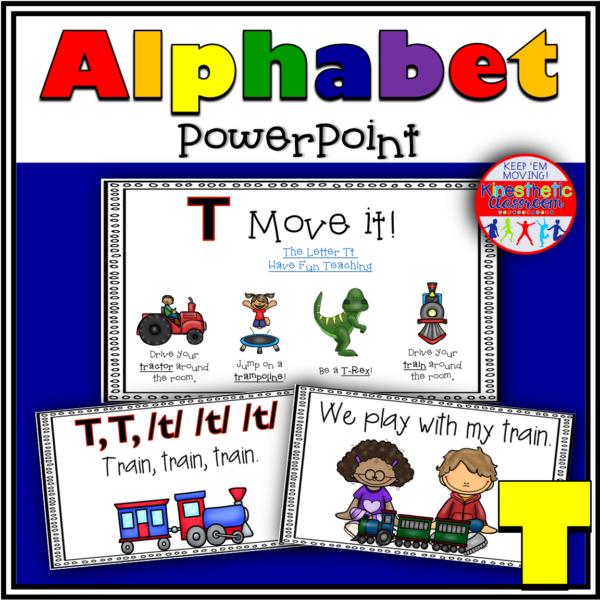 Alphabet Activity Letter Sound T PowerPoint Presentation