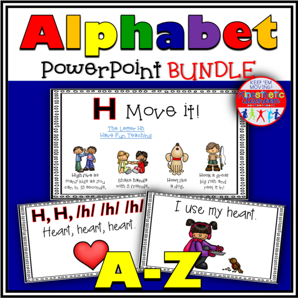 Alphabet Activity Letter Sound PowerPoint