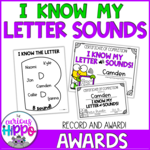 Letter Sounds Printable Activities