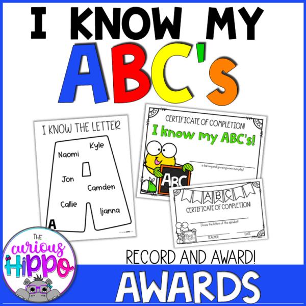 I know my ABC's - Record & Award