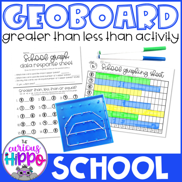 Greater than less than activity for back to school