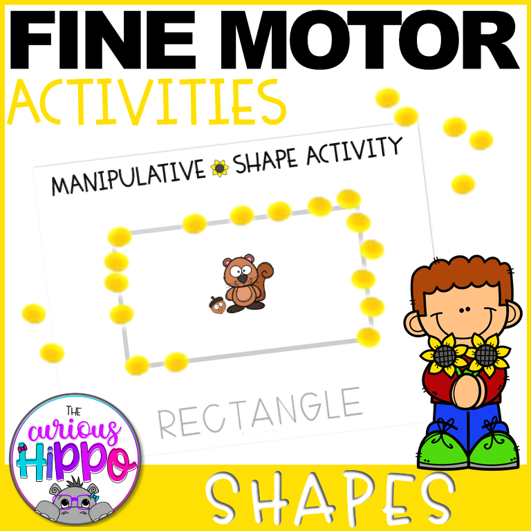 Preschool Shapes Activities - Fall