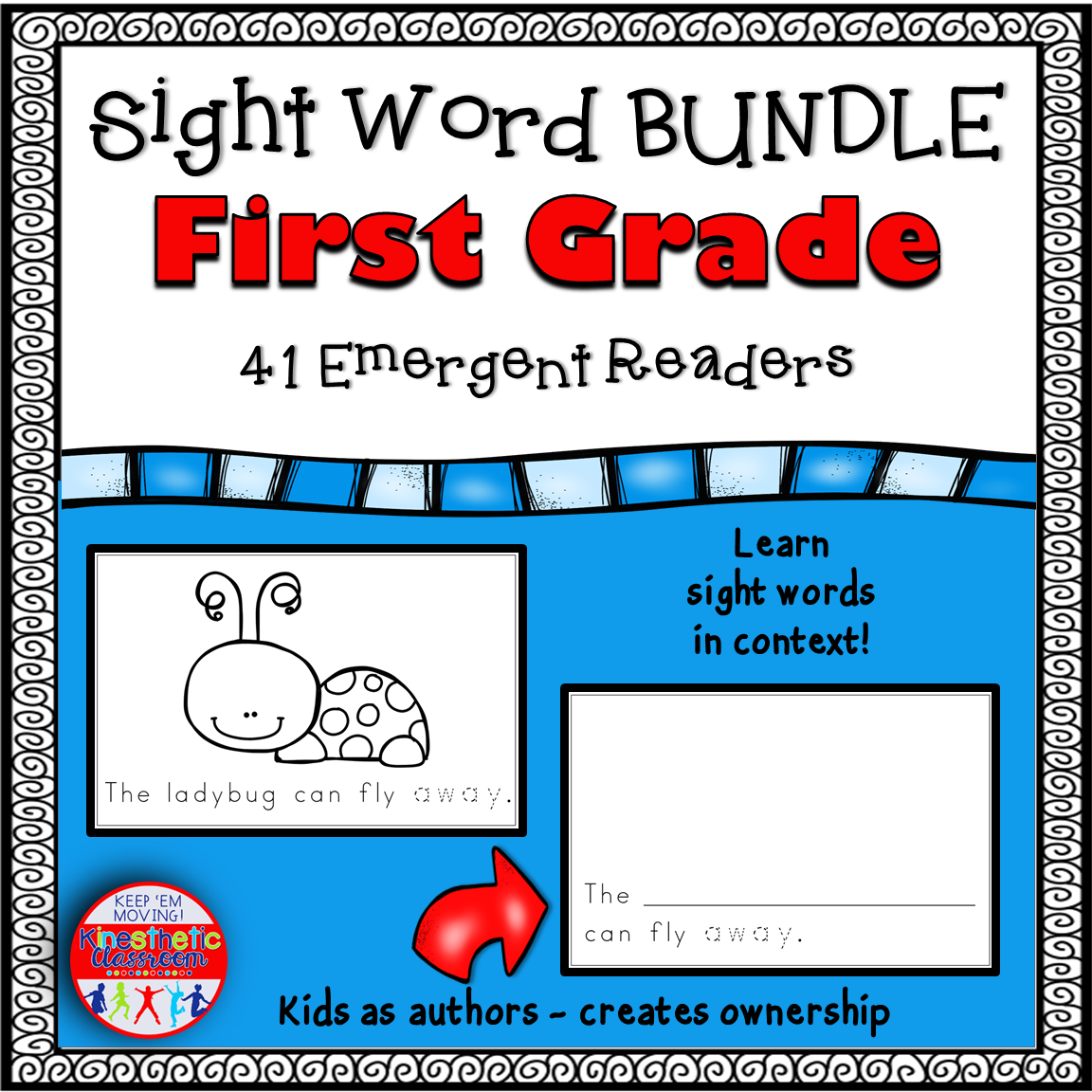 Sight Word Emergent Reader Books First Grade