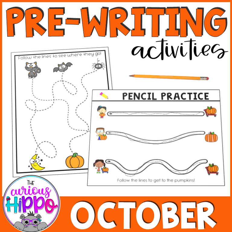 Pre-writing Activities for October