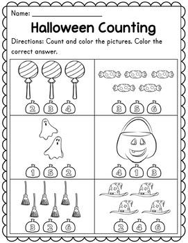 Halloween Preschool Worksheets - Madebyteachers