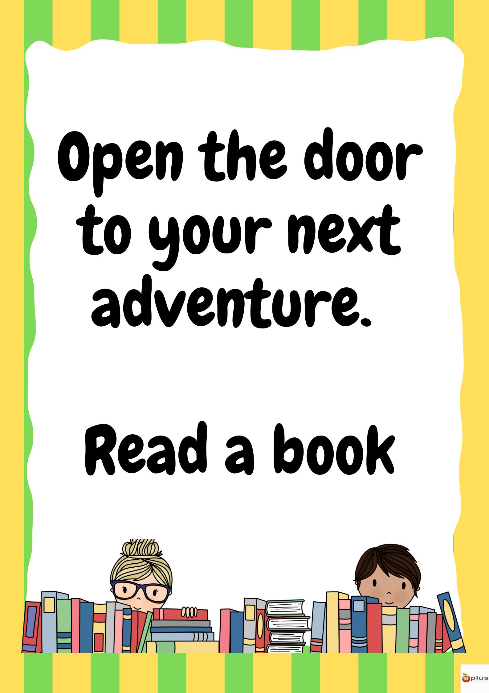 Reading Posters For Kids - Madebyteachers