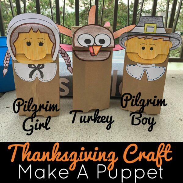 Thanksgiving Craft - Make A Puppet