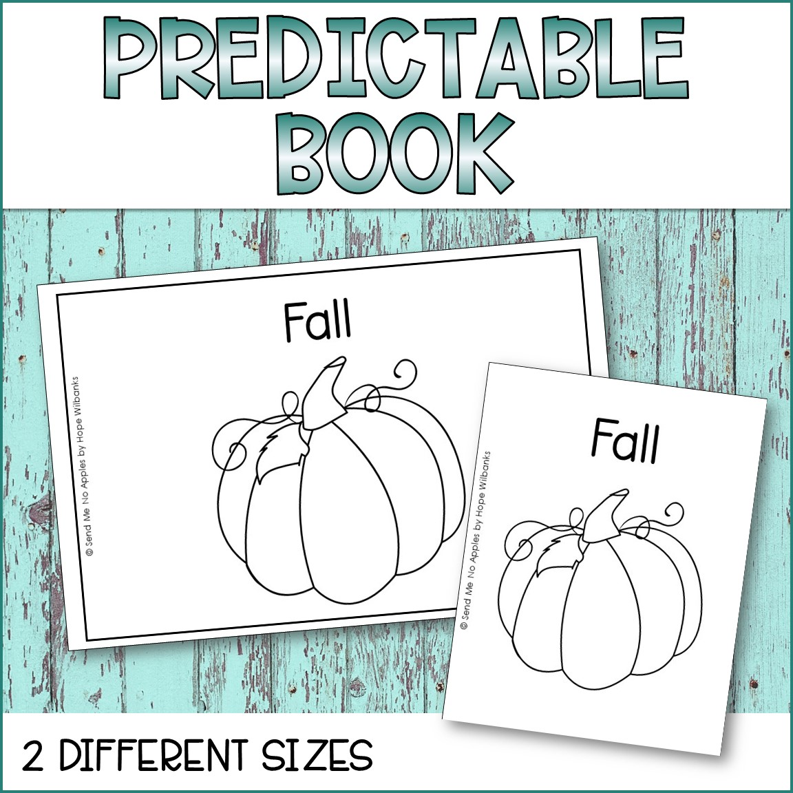 Predictable Text Emergent Reader - Fall