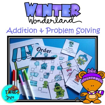 Addition & Problem Solving - Dramatic Play, Winter Cafe
