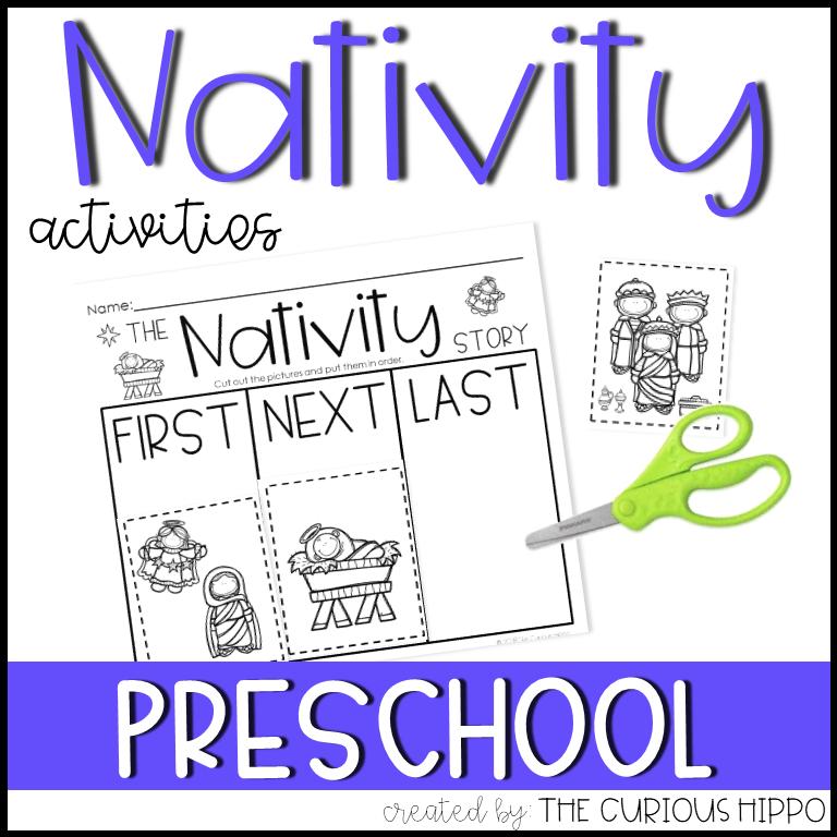 Nativity Activities for Preschool