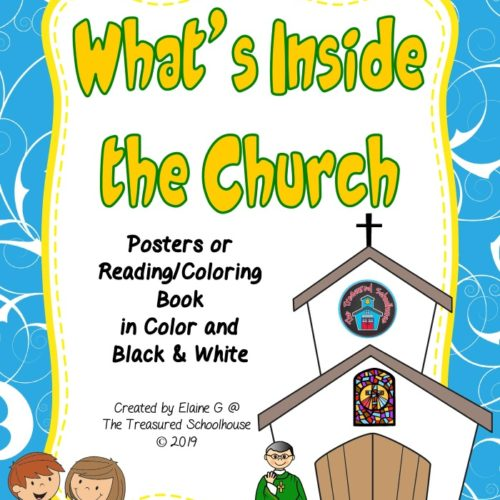 - Inside The Church Posters And Coloring Pages - Madebyteachers