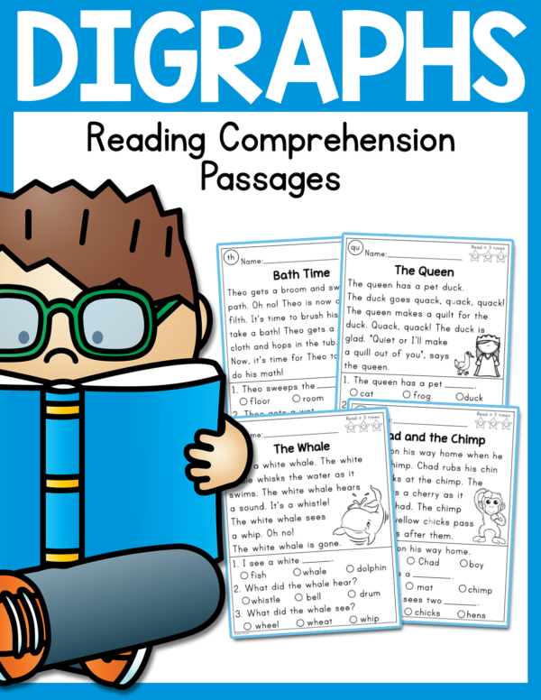 Boom Card Reading Comprehension Activities