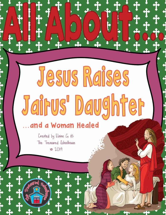 All About Jesus Raises Jairus' Daughter
