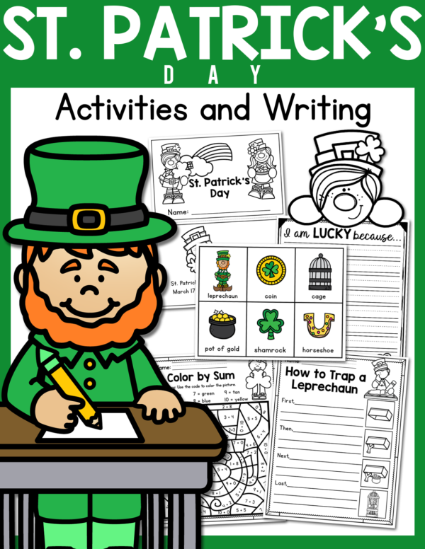 St. Patrick's Day Activities and Worksheets