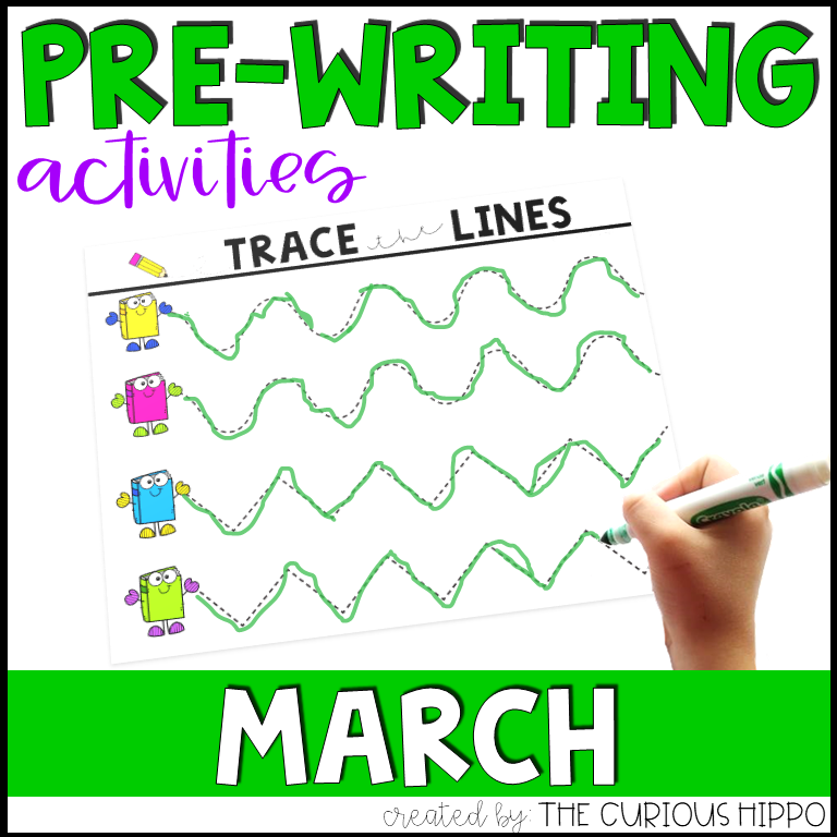 Pre-Writing Activities for March