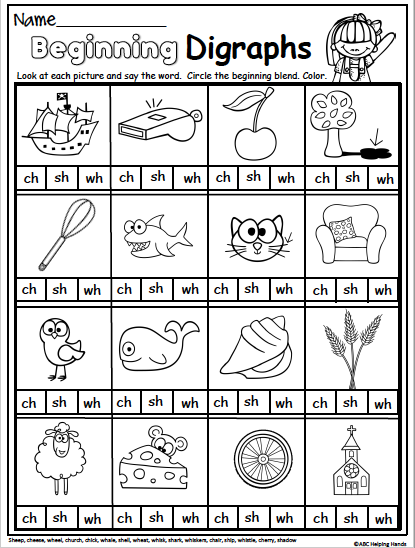 Spring Math And Literacy Packet For 1st Grade - Made By Teachers