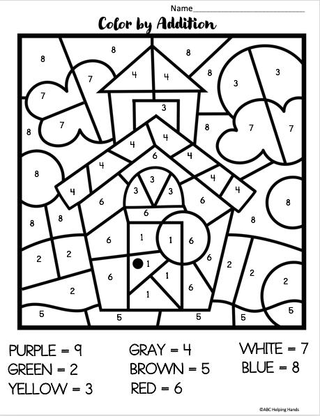 Free School Worksheets For Kindergarten