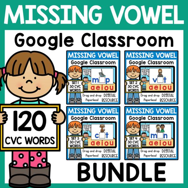 CVC Word Google Classroom