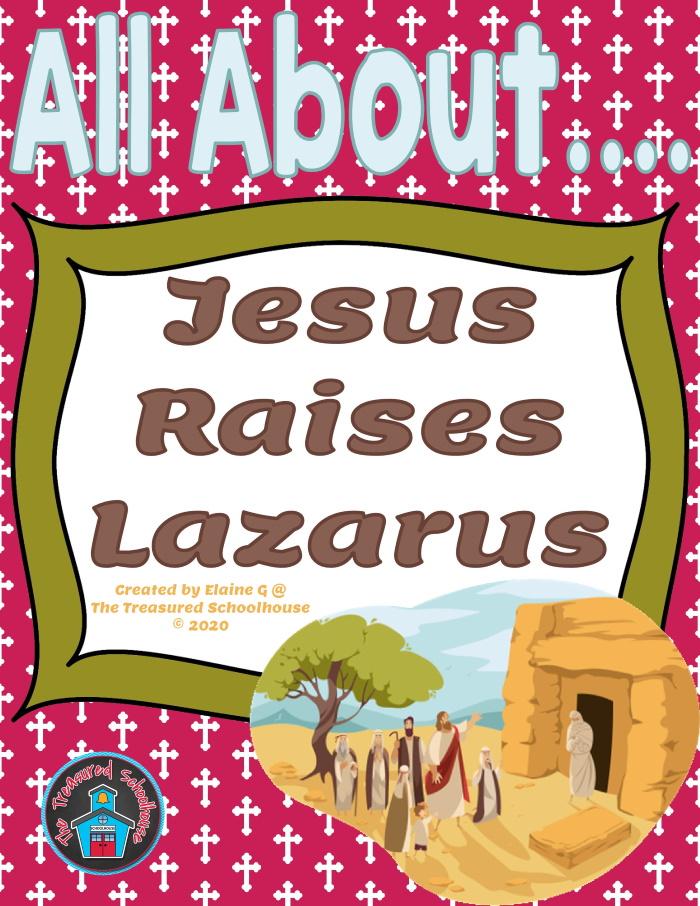 All About Jesus Raises Lazarus