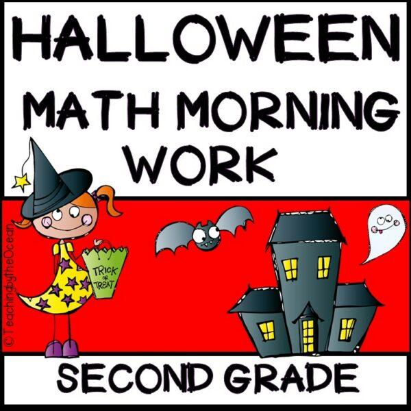 2nd Grade Morning Work - Math - Halloween